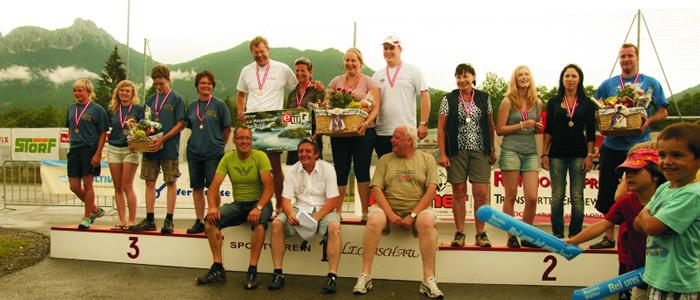 Die Sieger von der Challenge 2011