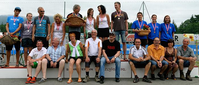 Die Sieger von der Challenge 2012